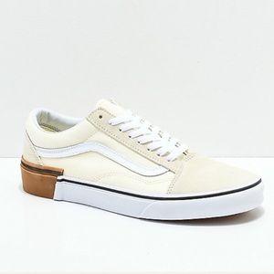 NWT Vans Old Skool Gum Block Skate Shoe W 7, M 5.5